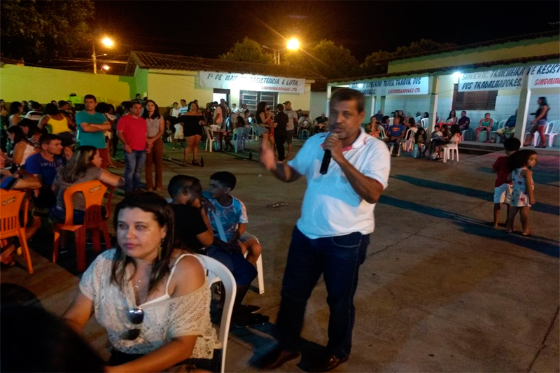 1º MAIO DOS MINERADORES: CULTURA, PROTESTOS E LAZER