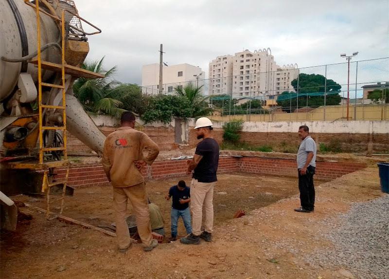 Sindmineradores: Obras de requalificação do Clube são retomadas