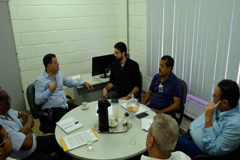 Sindmine participa de reunião com o presidente da INB