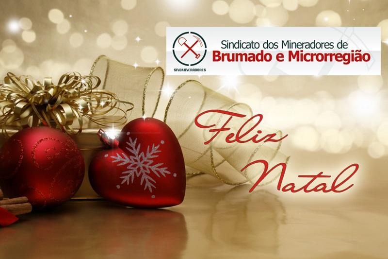 Mensagem de Natal e Boas Festas do Sindmine