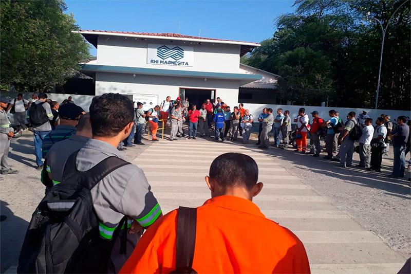 Mineradores ampliam a mobilização da campanha salarial 2018
