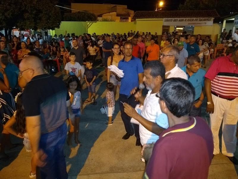 1º DE MAIO DOS MINERADORES COM CULTURA E MUITO PROTESTOS